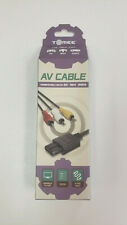 *NEW* Tomee Replacement AV Cable for Gamecube N64 SNES Composite Video 6' *NEW*
