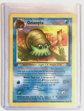 OMANYTE 1st Edition 52/62 Fossil Series ENGLISH Pokemon NEAR MINT CONDITION Card