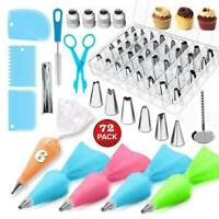 Cake Decorating Kit Supplies Set Tools Piping Tips Pastry Icing Bags Nozzles