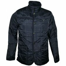 Weekend Offender Quilted Selector Jacket Navy Blue Size M