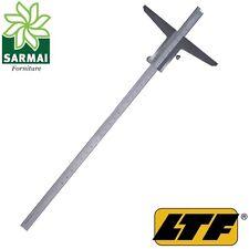 LTF calibro profondità cinquantesimale 300 mm acciaio inox nonio corsoio