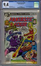 Fantastic Four #204 CGC 9.4 NM Wp 1st Nova Corps App (Cameo) Marvel Comics 1979