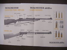 VINTAGE Winchester model 770 94 Center Fire rifles Paper Poster Advertising Sign