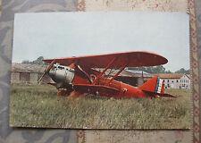 """CPA couleurs Avion """"Point d'interrogation"""" Raid Paris New-York 1-2 sept 1930"""