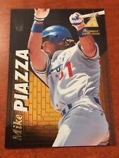 1995 Pinnacle Zenith MIKE PIAZZA Los Angeles Dodgers 76