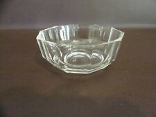 Clear Glass Panel SIded Bowl/Dish Made In Italy