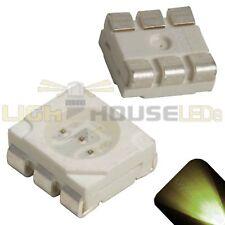 10 x LED PLCC6 5050 Warm Soft White SMD LEDs Light Super Ultra Bright PLCC-6