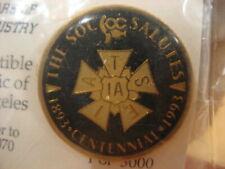 Hollywood SOCIETY OF OPERATING CAMERAMEN Salutes IATSE 100-Years 1893-1993 Pin