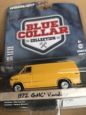 Greenlight Blue Collar  1972 GMC Vandura Van     yellow