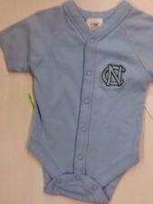 NCAA North Carolina Tar Heels Short-Sleeve Bodysuit (0-3 months) BLUE