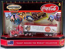 Matchbox Coca-Cola Scania Cab Coke Around The World Australia New In Box