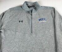 MPC Eagles Football Fleece Mens XL/2XL Under Armour Cold Gear Mount Paran Jacket