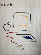 1984 Vintage Apple Macintosh Picasso Framed Artwork