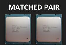 2x Intel Xeon E5-2680 v2 2,80 2.8 GHz 10 Core CPU Matched Pair SR1A6 LGA2011