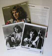 Peter Frampton I'm In You 1977 Us Promo Press Kit #1 Album The Herd
