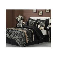 Bedroom Comforter Set 7Pc Bed In A Bag Shams Pillows Master Guest Dorm Rooms