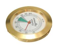 DZ804 Sale Calibrate-able Frame Round Hygrometer for Cigar Humidor 43mm Diameter