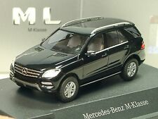 Busch Mercedes ML, M-Klasse, schwarz - dealer modell 057 - 1:87