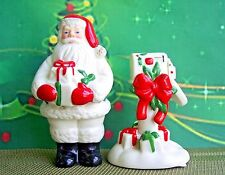 NEW in Box - LENOX Holiday Countdown 'til Christmas Salt & Pepper Shaker Set