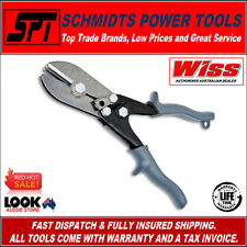 "WISS WC5S DOWN PIPE / DOWNSPOUT & SHEET METAL HAND CRIMPER 5 BLADE 1-1/4"" THROAT"