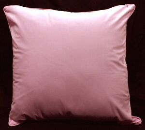 Rc403a Tulip Pink Soft Pure Cotton Fabric Cushion Cover/Pillow Case*Custom Size*