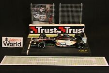 QSP Diorama Minardi PS03 2003 1:18 100th Grand Prix of Jos Verstappen (NED)