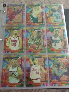 1993-94 Topps Finest NBA Complete Set 1-220 w/ Michael Jordan Webber Hardaway RC