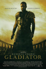 Gladiator (2000) Russell Crowe Echoes In Eternity Quote 24x36 Movie Poster Print
