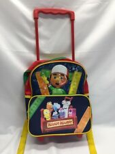 Handy Manny Backpack Rolling Wheels tools