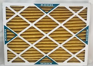 "KOCH Fiberglass Panel, Disp, C and I, 16""x24""x2"" Pack of 12"