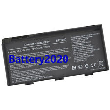 BTY-M6D Genuine Battery For MSI GT60 GX60 GT70 GT660 GX660 GT680 GT663R 7800mAh
