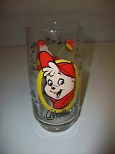 1985 Bagdasarian The Chipmunks Alvin Drinking Glass Tumbler