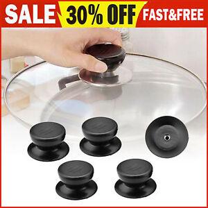 5xKitchen Cooking Pot Pan Lids Replacement Knob Lifting Handle Saucepan Lid N