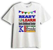 First Day of School Personalized Custom Shirt