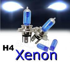 H4 55/60W XENON HEADLIGHT BULBS TO FIT Peugeot MODELS LOW & DIPPED + FREE 501'S