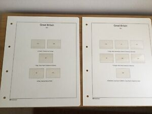 WESTMINSTER 'GREAT BRITAIN COLLECTION' STAMP ALBUM PAGES - CHOOSE YEAR SET