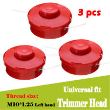 3x Universal Strimmer Bump Feed Line New Brush Cutter Replacement Trimmer Head