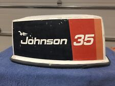 JOHNSON EVINRUDE Outboard Boat Motor  HOOD COVER 20 25 28 30 35 May Fit Others