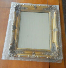 MIRROR-GILT STYLE PLASTIC FRAME -13X11 RECTANGLE-NEW!!! STILL IN WRAPPER!!!