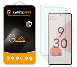 [3-Pack] Supershieldz Tempered Glass Screen Protector for Google Pixel 6