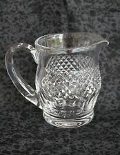 """Waterford Crystal CARA 20 ounce PITCHER / CREAMER - 5 1/4"""" Tall"""