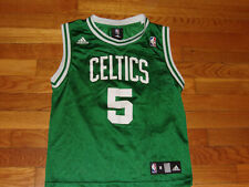 ADIDAS BOSTON CELTICS KEVIN GARNETT BASKETBALL JERSEY BOYS MEDIUM 10-12 EXC.
