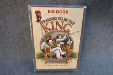Playing Cards Sealed Full Deck Big Dogs Big Kahuna It's Good To Be The King