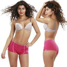 Remixx Damen Panty 4er Pack Hipster Panties Stretch Baumwolle Pants Slip