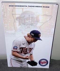 2021 MLB Baseball Minnesota Twins Media Guide New IN STOCK