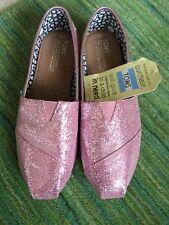 0647265c2feb Pink Glitter Toms in Women's Flats for sale | eBay
