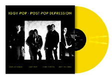 Iggy Pop Post Pop Depression Rough Trade Exclusive NEW Yellow Vinyl 500 ONLY