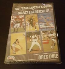 The Team Captain's Guide to Great Leadership (DVD) Greg Dale coaching sports NEW