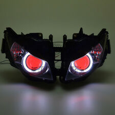 White&Red Eye HID Projector Assembly Headlight for Honda CBR1000RR 2012-2016