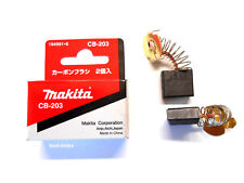 Makita Kohlen CB203 (für 2414B 2414NB 3612C 5103R 5143R 5903R KP312S LG1230)